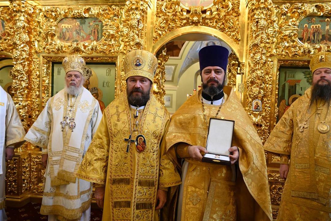 24 июля 2021 года настоятель храма Воскресения Словущего в Даниловской слободе удостоен церковной награды