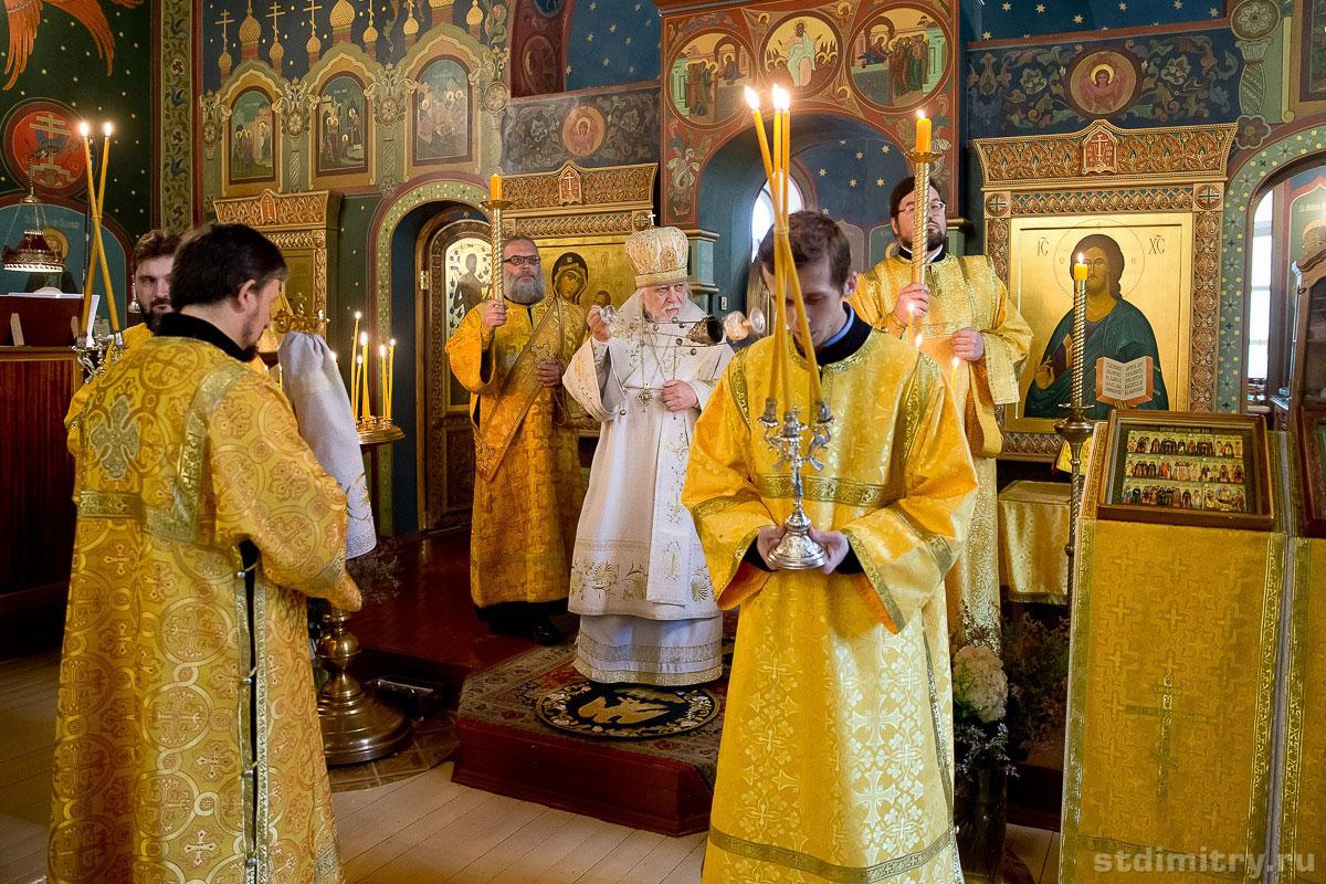Состоялось великое освящение Тихвинского храма при больнице святителя Алексия