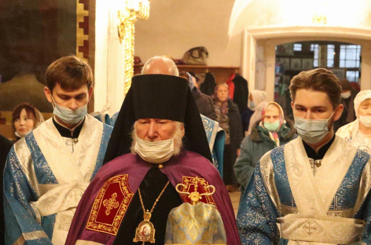 Праздник Рождества Пресвятой Богородицы в храме иконы Божией Матери «Казанская» в Коломенском
