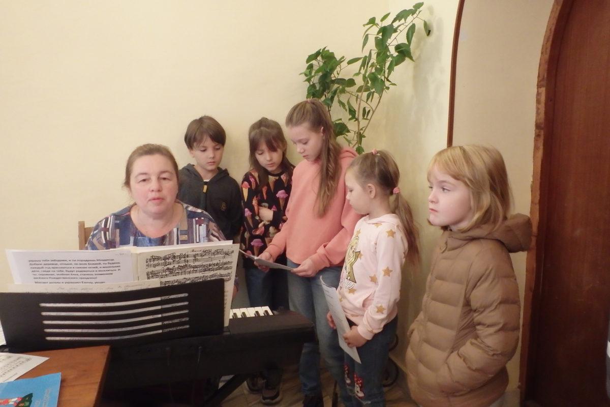 Начало занятий в воскресной школе храма иконы Божией Матери «Казанская» в Коломенском